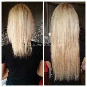 przedłużanie włosów cena