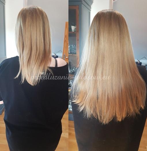 metoda przedłużania włosów